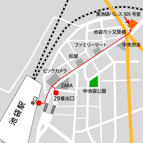 CAFIC地図